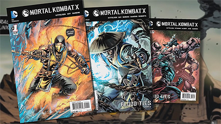 Mortal Kombat X Game And Comics Dc All Access