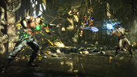 Mortal Kombat X Gamescom Screenshot Kano Vs Raiden 01