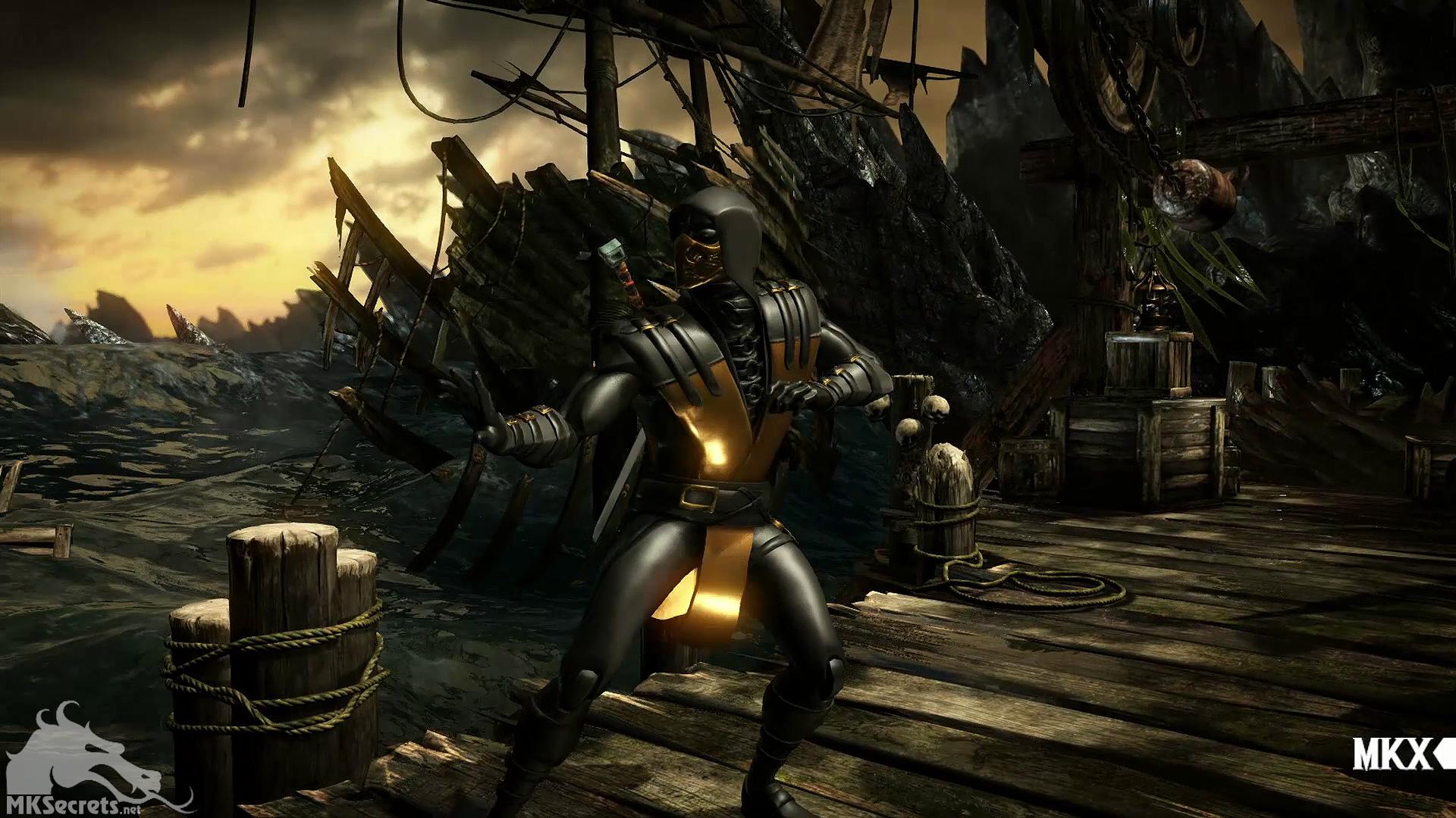 Screenshot - Old Movie MKX (Mortal Kombat X)