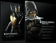 Mortal Kombat X Gold Scorpion Skin And Kombat Pack