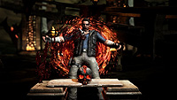 Mortal Kombat X Johnny Cage Test Your Might Death