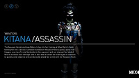 Mortal Kombat X Kitana Assassin Variation
