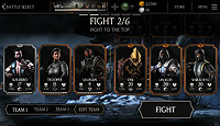 Mortal Kombat X Mobile Android Vs Screen