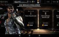 Mortal Kombat X Mobile Heavy Weapons Jax Challenge Screenshot 02