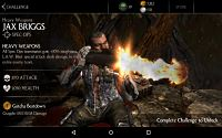 Mortal Kombat X Mobile Heavy Weapons Jax Challenge Screenshot 03