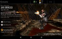 Mortal Kombat X Mobile Heavy Weapons Jax Challenge Screenshot 04