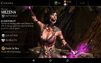 Mortal Kombat X Mobile Piercing Mileena Challenge Screenshot 03