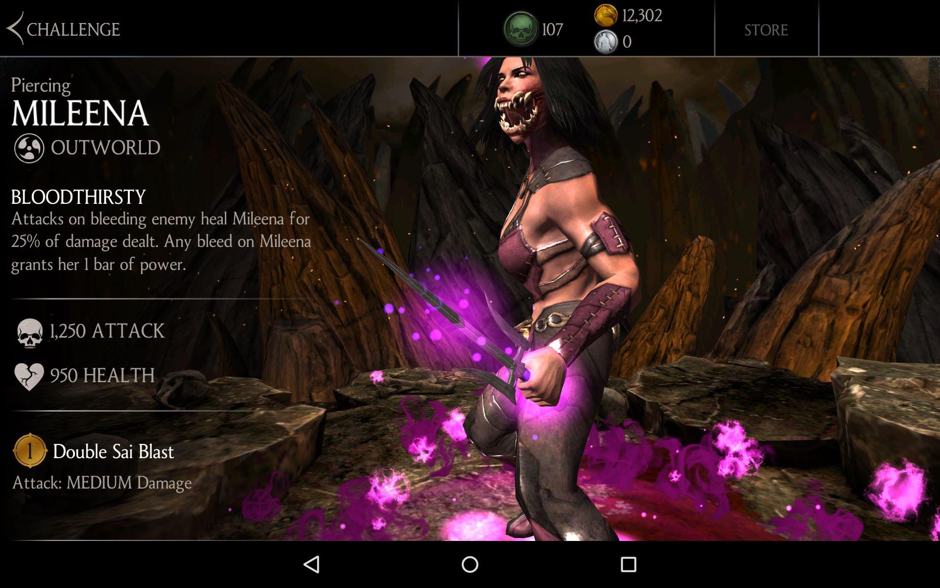 Mortal kombat x mileena fucks for outworld 10