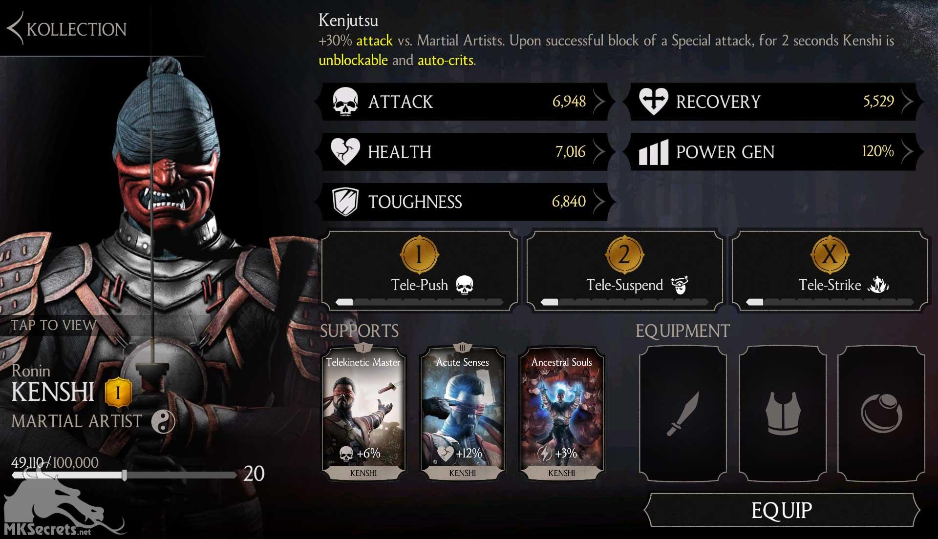 Mortal Kombat X Mobile Ronin Kenshi Challenge Ends Soon