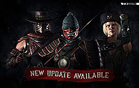 Mortal Kombat X Mobile Update Kold War Sonya Ronin Kenshi Erron Black