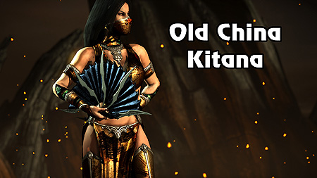 Mortal Kombat X Old China Kitana Pc Skin Mod