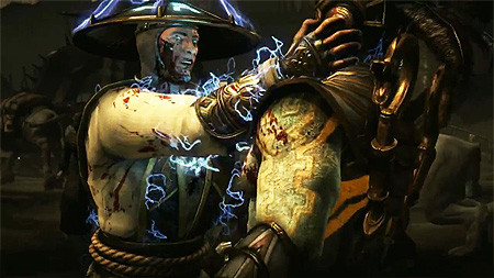 Mortal Kombat X Raiden Fatality Reveal
