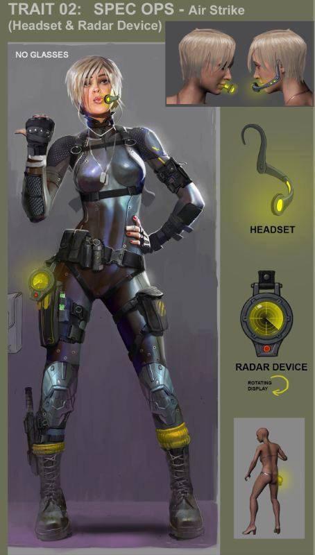 Mortal Kombat X Jax Concept Art