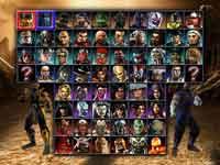 Mortal Kombat: Armageddon Character Select Screen • Mortal Kombat