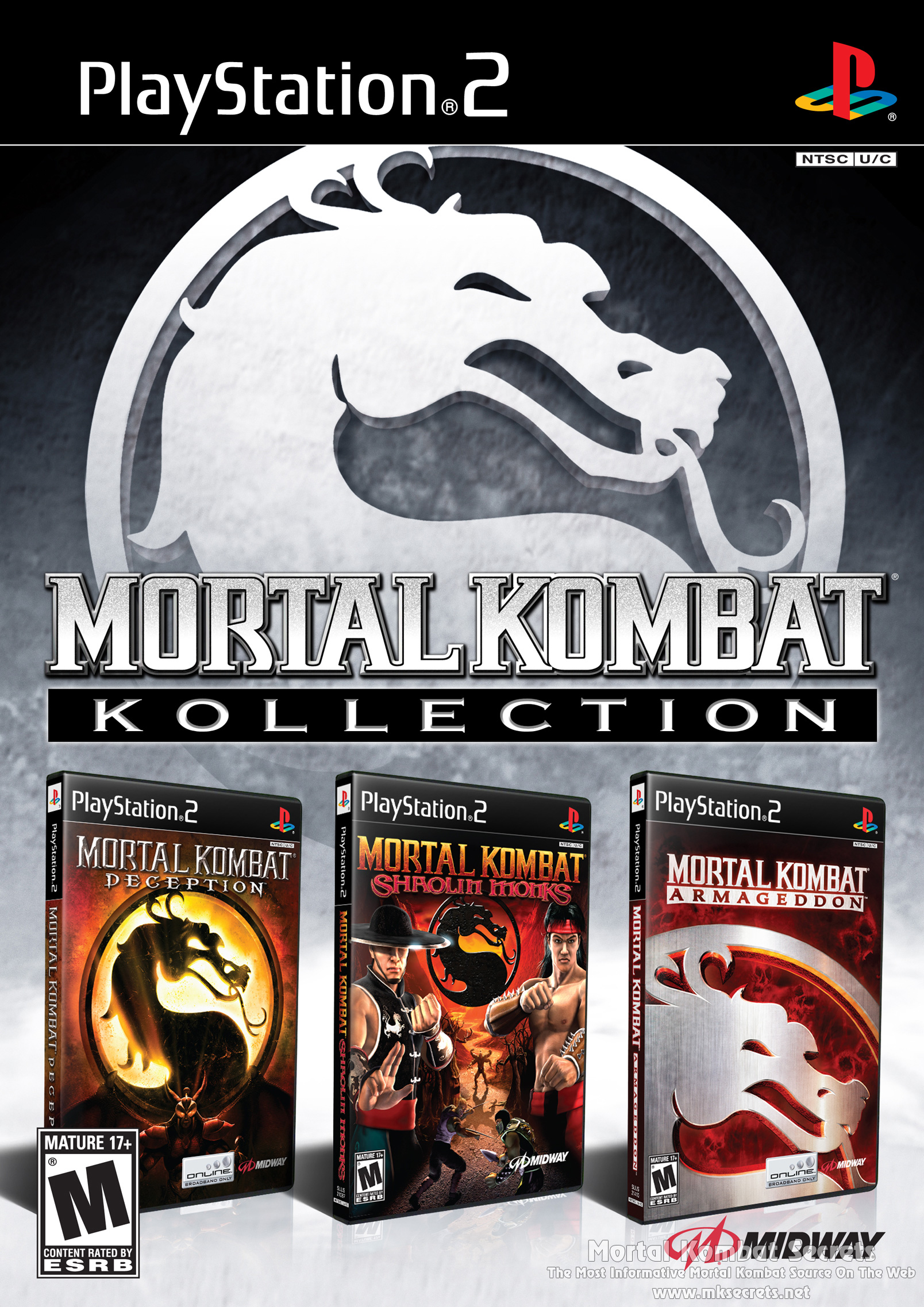 download mortal kombat shaolin monks for pcsx2