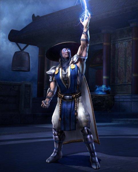raiden mortal kombat. from Mortal Kombat VS.