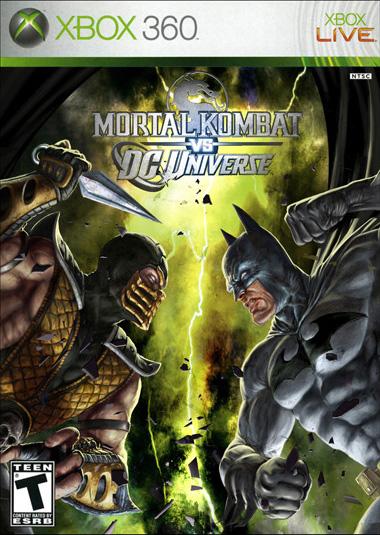 Mortal Kombat vs DC Universe (2010) XBOX360-VATOS PAL