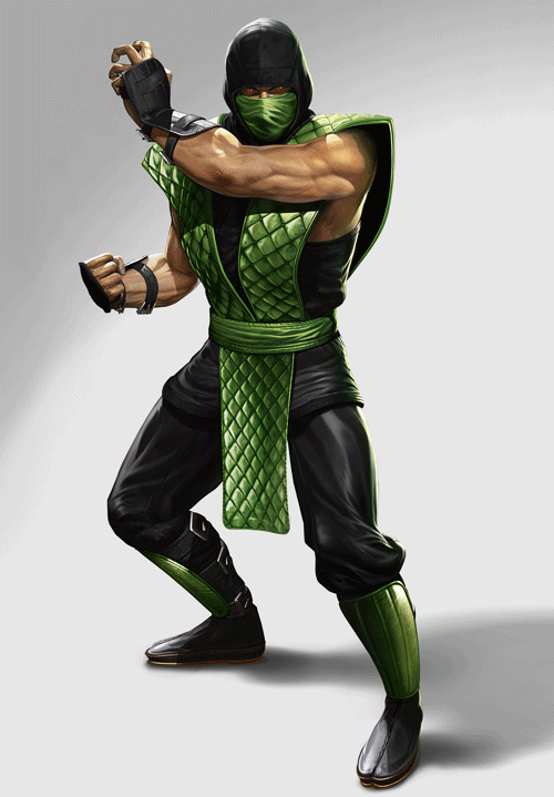mortal kombat 9 reptile render. Com published a render of the