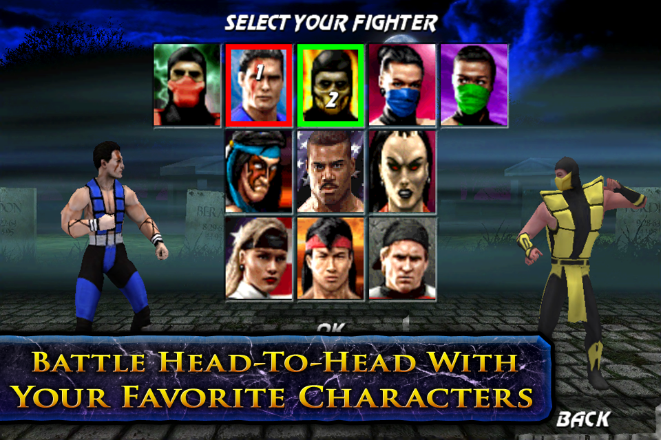 Mortal Kombat Secrets :: Ultimate Mortal Kombat 3 For IPhone