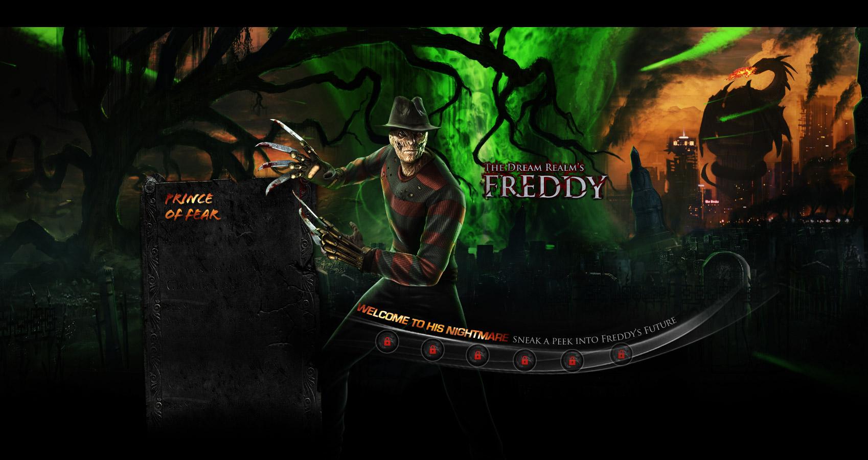 Freddy Kruegers Biography And Render
