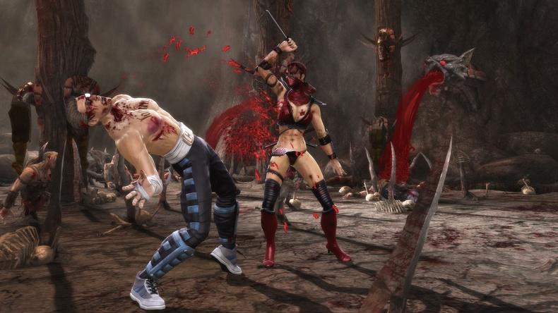 Skarlet Images and Biography • Mortal Kombat Secrets