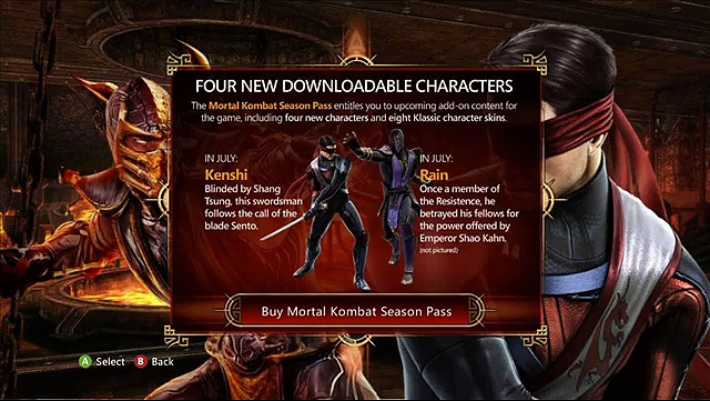 Free Mortal Kombat X DLC Klassic skins wishlist - Product
