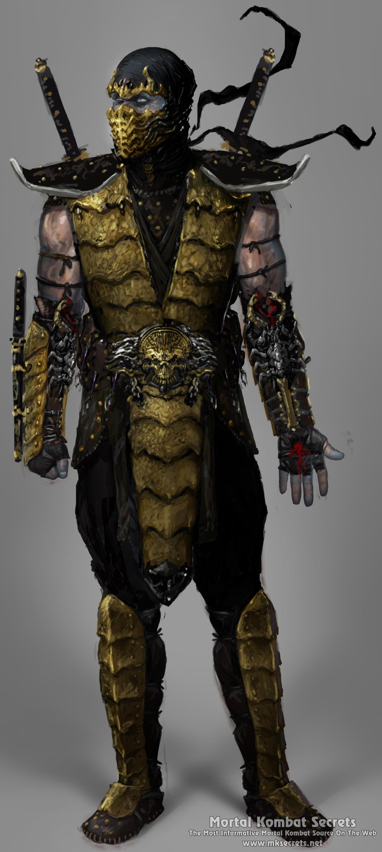 25 Alternative Costumes Concept Art Images Mortal Kombat Secrets