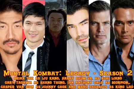Mortal Kombat Secrets Mk Legacy 2 Release Date And Cast Info
