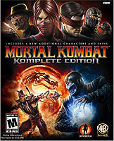 Mortal Kombat 9 (2011) Komplete Edition Box Art Cover