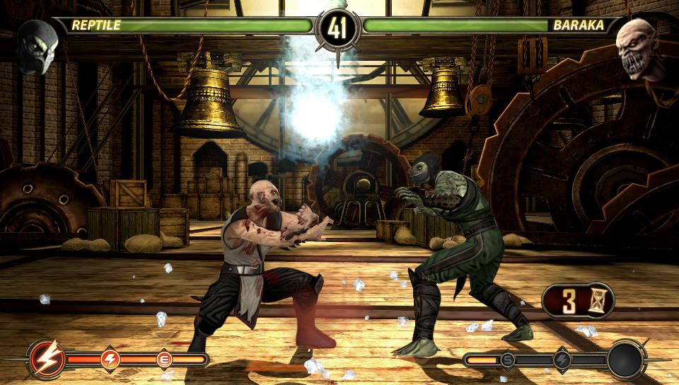 ... Mortal Kombat (PSVita) Screenshot ...