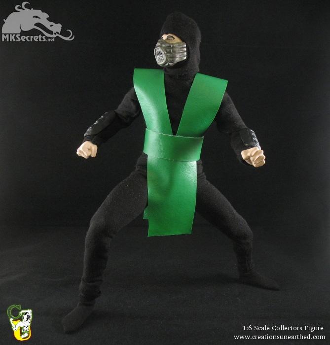 Reptile mortal kombat costume - photo#6