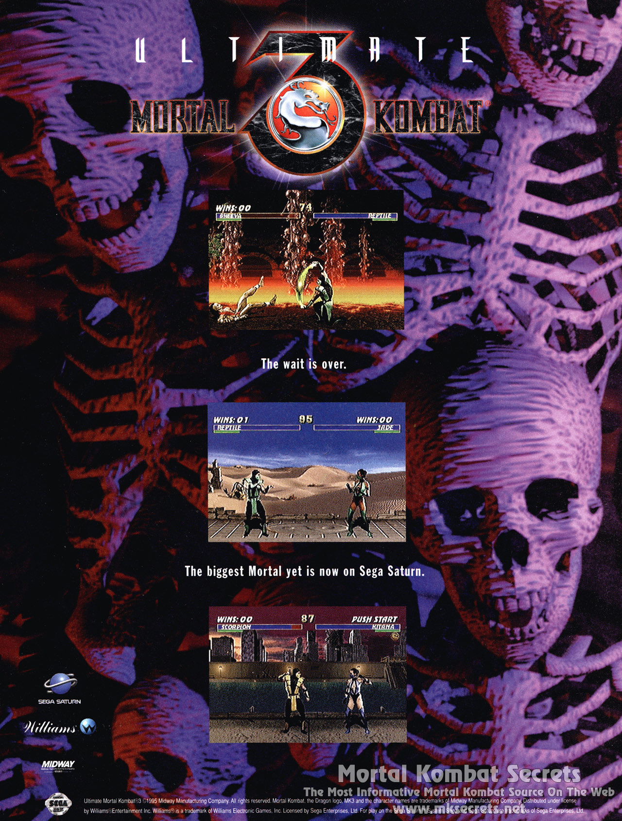 Ultimate Mortal Kombat 3 Hack Editions