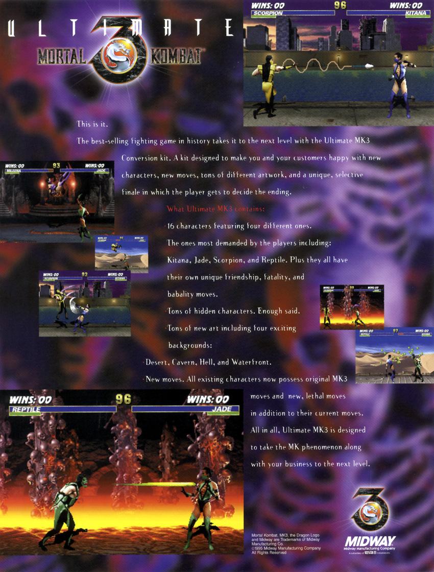 Mortal Kombat Secrets: Ultimate Mortal Kombat 3 - The Arcade